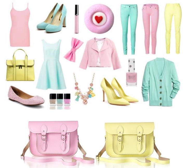 Resultado de imagem para look moderno candy colors
