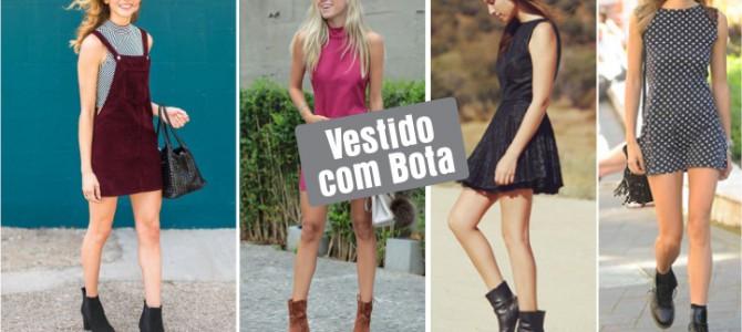 VESTIDO + BOTA NO VERÃO!