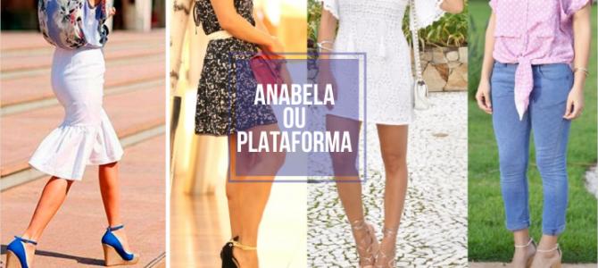 Salto Anabela ou Plataforma qual diferença?