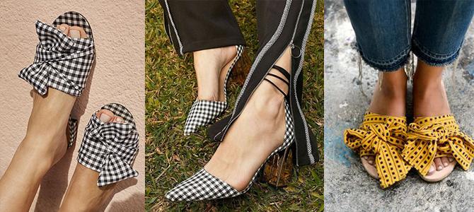 Calçados Com Estampa Vichy